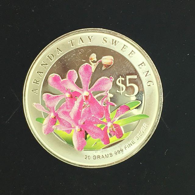 Aranda Tay Swee Eng Orchid Coin
