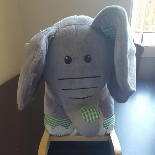 Baby Elephant Rocker