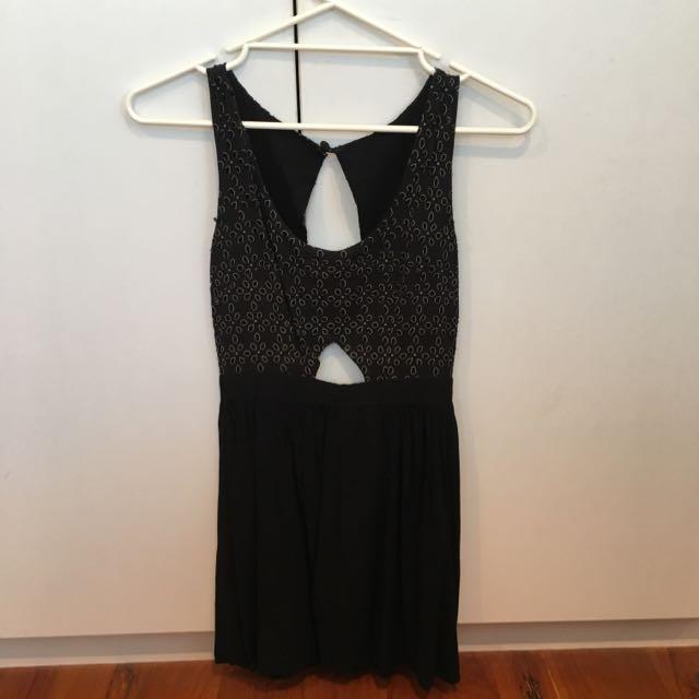 Black Dress Size Small