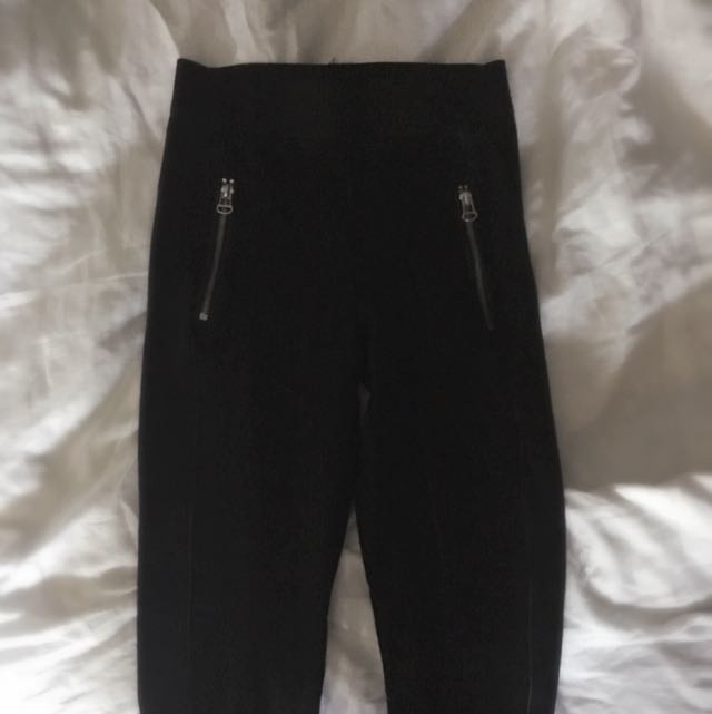 -ON HOLD- Black Full Length H&M Leggings
