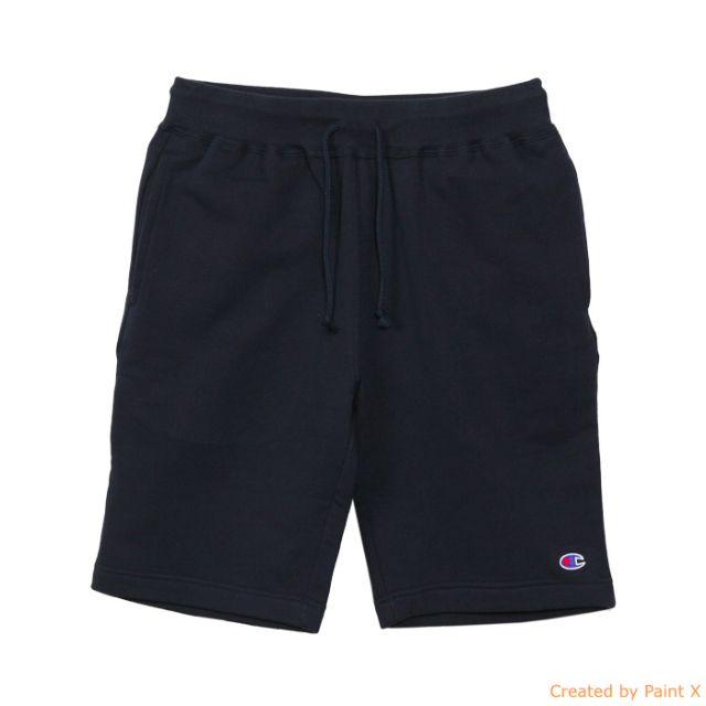 #Champion 棉質 棉短褲 海軍藍色