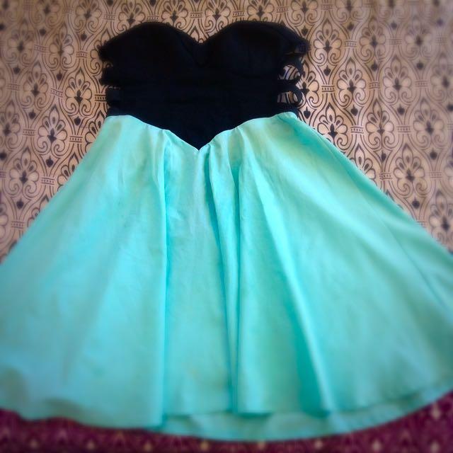 Cute Black And Blue Dress 👗