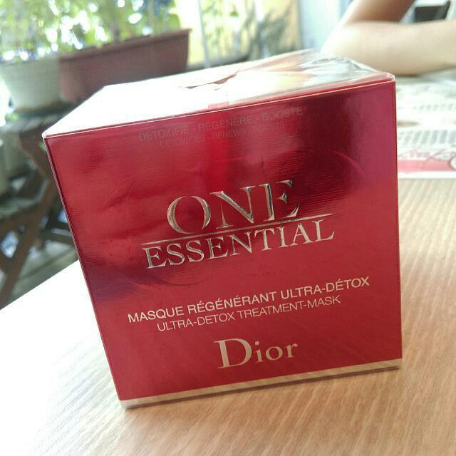 迪奧 極效賦活精粹面膜 Dior 面膜