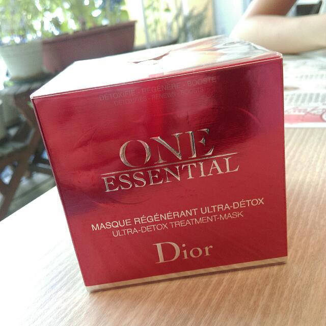 Dior 迪奧 極效賦活精粹面膜 面膜