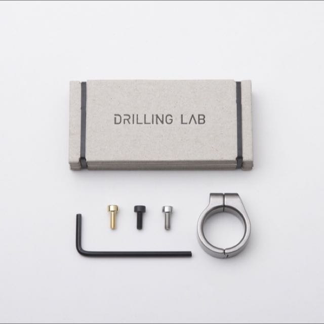 Drillinglab Ring Type A 銀色戒指 Drilling Lab