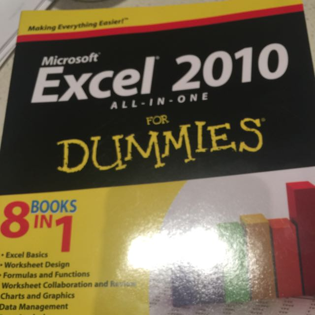 Excel 2010 For Dummies - 8 Books In One