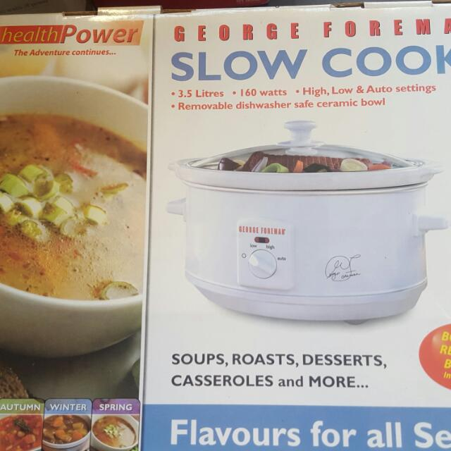 George Foreman Slow Cooker