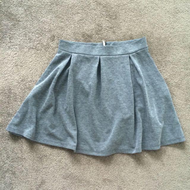 Grey H&M Skirt