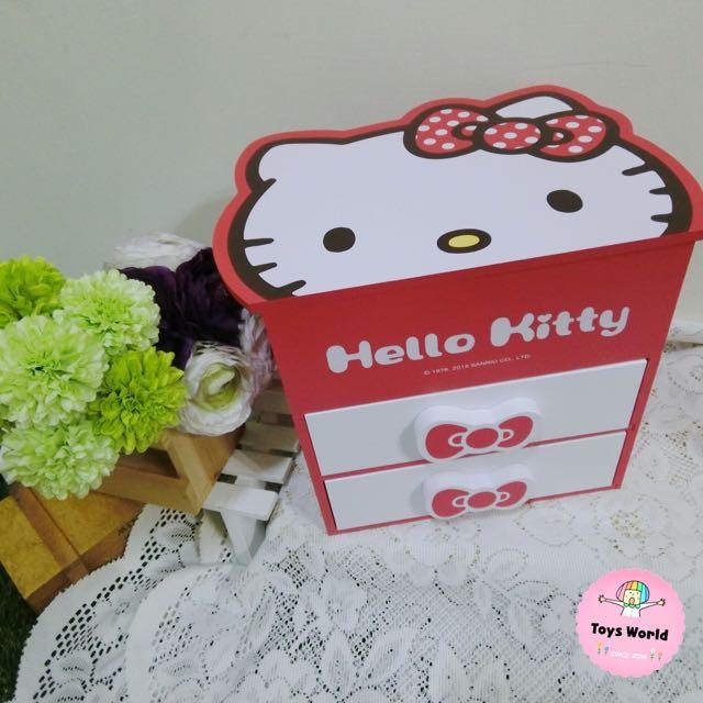 🎀Hello Kitty頭型三層收納盒🎀