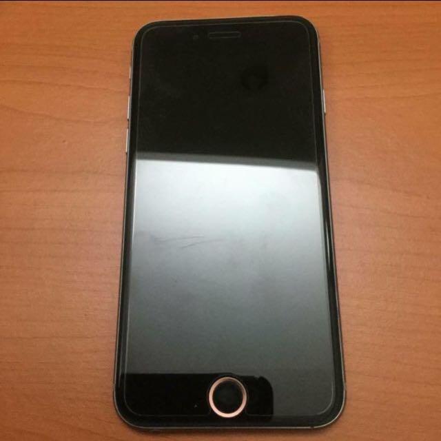 iPhone6 4.7 128G 太空灰 可換機6s/SE