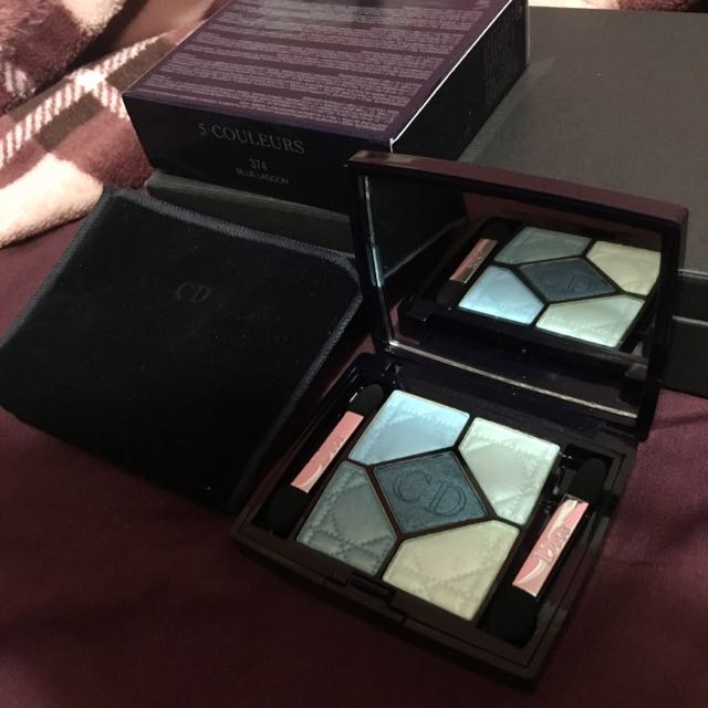 Limited Edition Dior 5 Couleurs Couture Colour Eyeshadow Palette in 374 Blue Lagoon