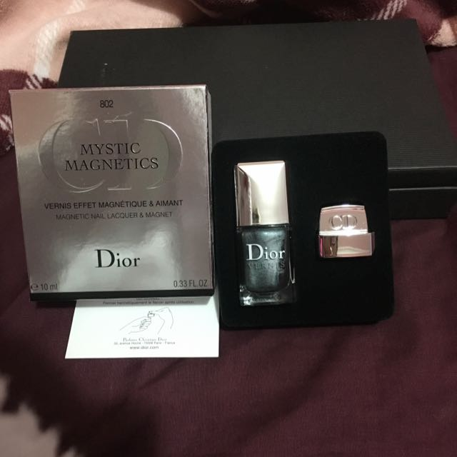 Limited Edition Dior Mystic Magnetics Nail Lacquer & Magnet