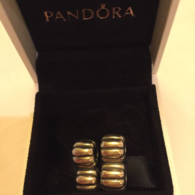 Pandora Double Spacers For Double Leather Bracelets