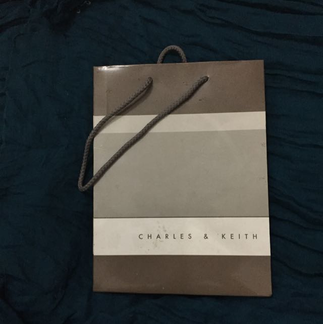 Paperbag Charles And Keith