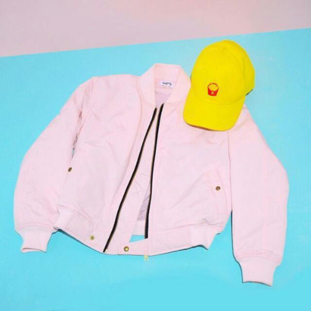 Pink Bomber Jacket (Loony Brand)
