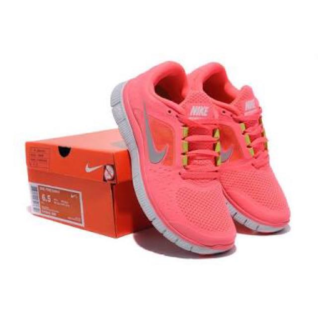 new concept d6cbc 5a7c1 PINK NIKE FREE RUNS, Sports on Carousell
