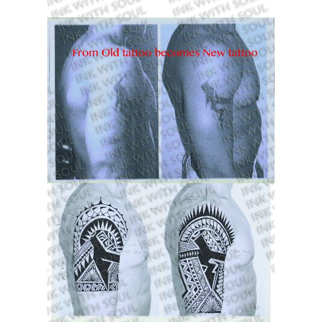 Polynesian tattoo (customize), Men\'s Fashion on Carousell