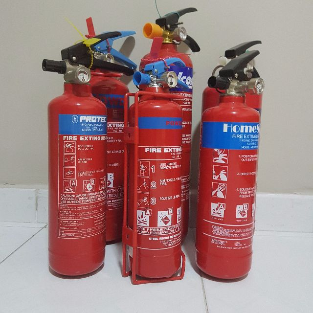 Reconditioned fire extinguishers. Servicing to each order. As good as new. Thousands of units available.