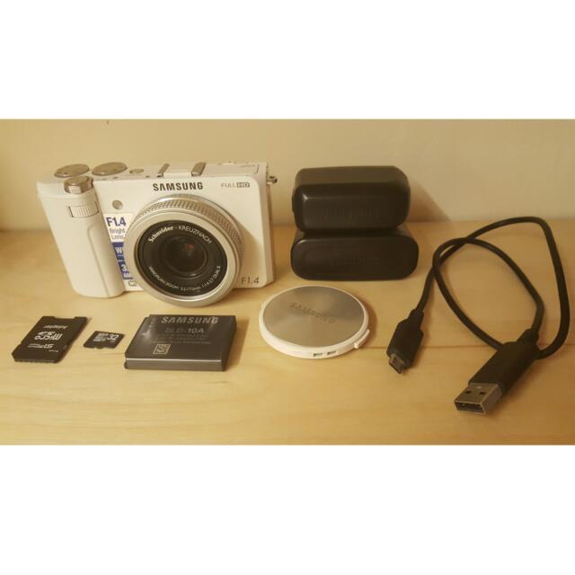 三星SAMSUNG EX2F 相機 32G白色