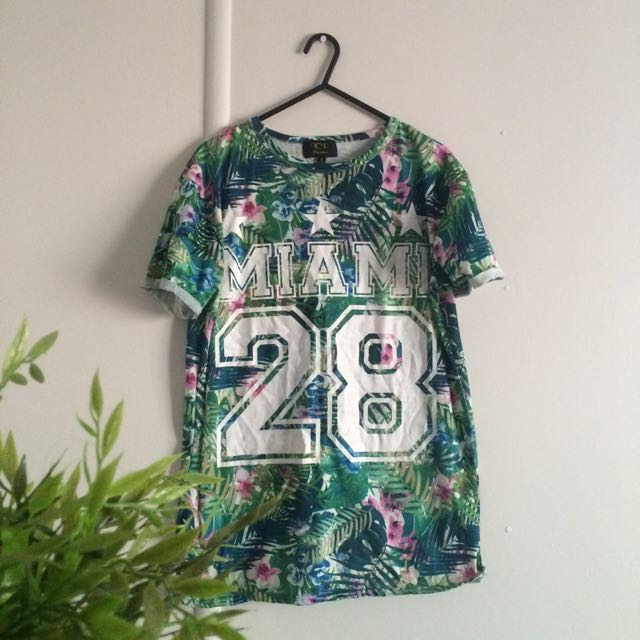 TEE FROM ICE - LEAFY AND FLORAL