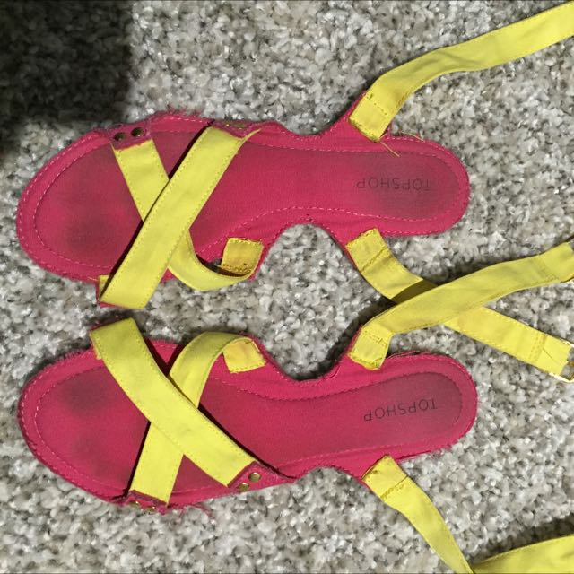 Top Shop Sandals Size 38