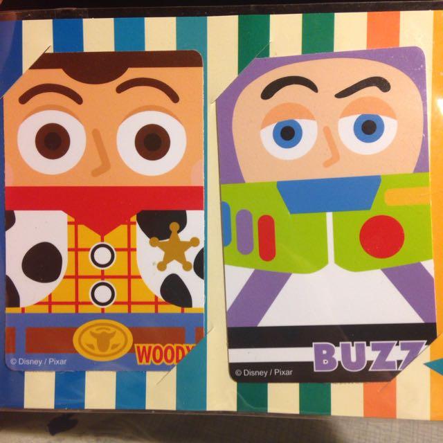 迪士尼Toy Story 卡貼