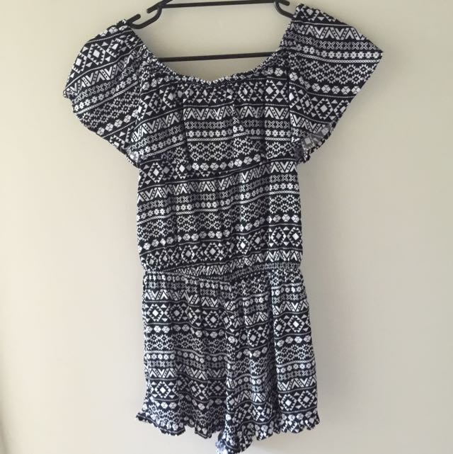 Willow wrap playsuit