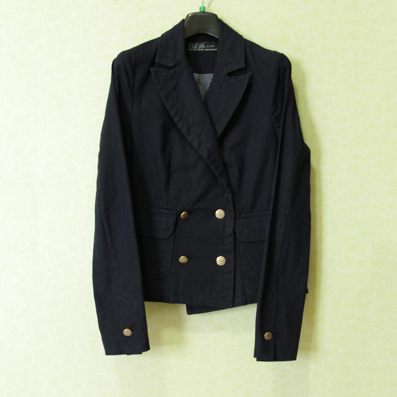 Zara TRF Navy Blazer