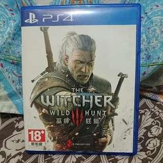 PS4-巫師3狂獵