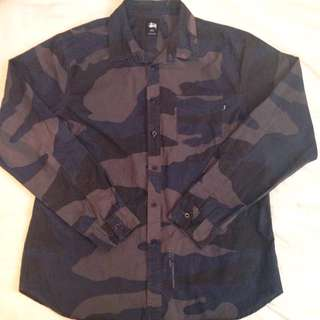 Authentic Stussy Button Up
