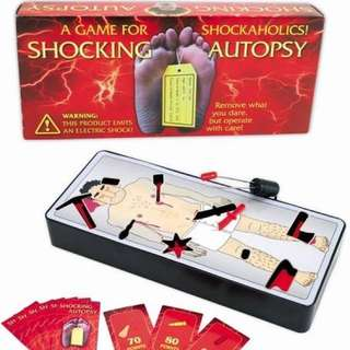 Shocking Autopsy Funny Adult Group Game