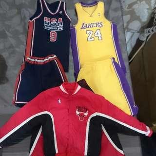 NBA Michael Jordan Enterbay Eb usa 奧運 夢幻隊 bulls 公牛隊 熱身服