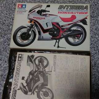 NOS Tamiya Honda VT250F Integra Japan.