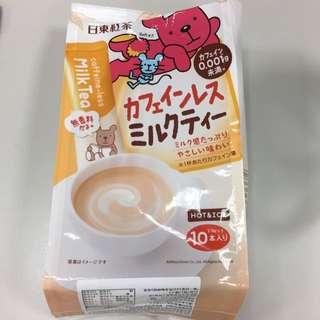 日東紅茶-微量咖啡因奶茶