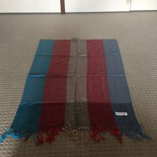 100% Authentic Cashmere And Silk Blend Pashmina