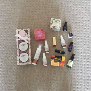 Mixed Bundle Of Organic And Non Organic Beauty Products