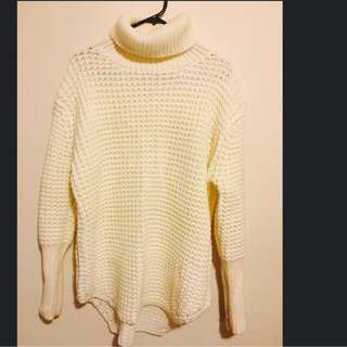 Price Drop!! Beige Turtleneck Knit