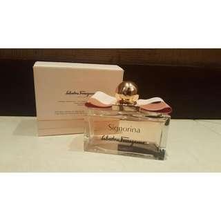 Original Perfume Salvatore Ferragamo Signorina  (Was Bought 1,6 in Debenhams)