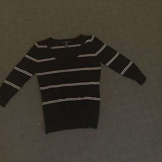 H&M Woollen Top Size Small (8/10)