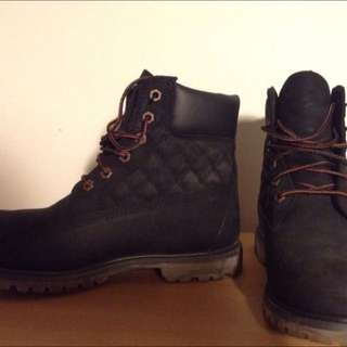Timberlands black (diamond Quilted) NEW UNWORN SIZE 8 Women's