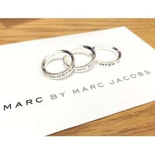 🇺🇸 (商品保留中)MARC BY MARC JACOBS 拉丁文戒指