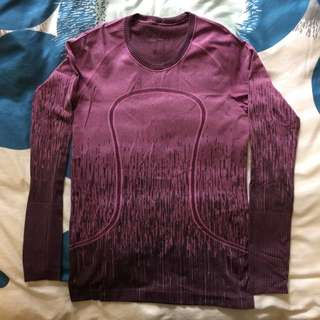 Lululemon Swiftly Long Sleeve CAD 10/AUS 14