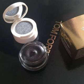 TOM FORD Cream and Powder Eye Color in Black Oyster eyeshadow makeup cosmetics