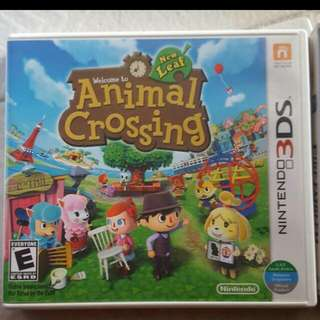 Animal Crossing New Leaf 3ds (Reserved)