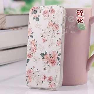 小碎花 手機套 軟殼 iPhone 5/5s/SE