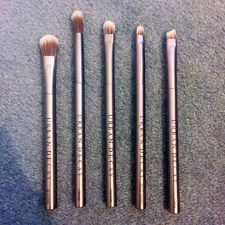 Urban Decay Eye Brushes - $13 Each, $50 For All