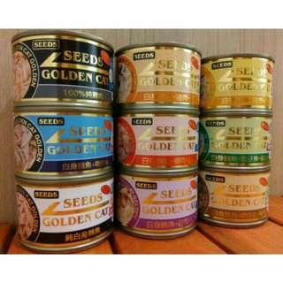 惜時 Seeds-Golden Cat 特級金貓大罐 170g / 9罐(9合一嚐鮮罐)$300元