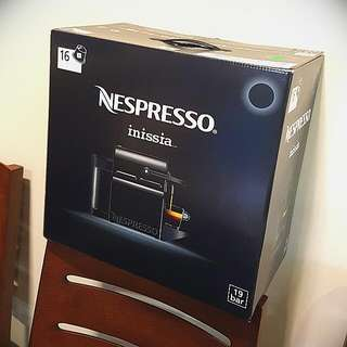 NESPRESSO INISSIA COFFEE MACHINE (reserved)