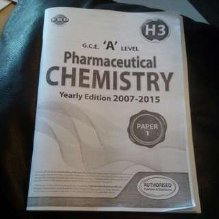 H3 Pharmaceutical Chemistry A level Book