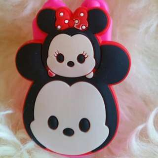 Item 75) Pink Just Mickey and Minnie Sanitizer